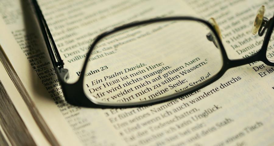 Bibelspruch als Taufspruch Psalm